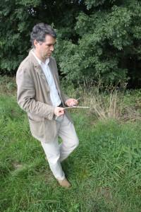 Michael Beusch Rutengänger Geomantie